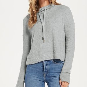 NWT Z Supply Kacey Feathered Hoodie